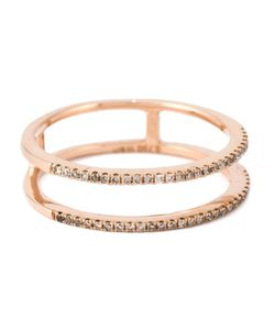 Wouters & Hendrix Gold   Diamond Double Stacked Ring