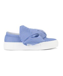 Joshua Sanders | Bow Wide Stripe Sneakers