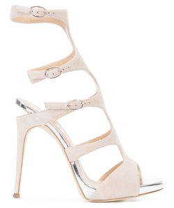 Giuseppe Zanotti Design | Buckled Gladiator Pumps Size 40