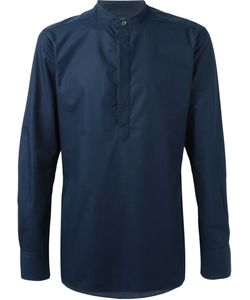 E. Tautz | Slim Fit Grandad Collar Shirt