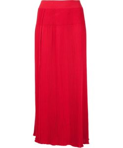 Sonia Rykiel | High-Waisted Pleated Long Skirt