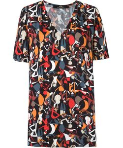 Andrea Marques | Abstract Print Blouse