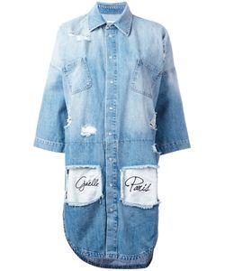Gaelle Bonheur | Distressed Denim Dress Size 40