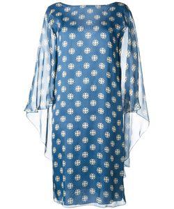 Alberta Ferretti   Sheer Shift Dress