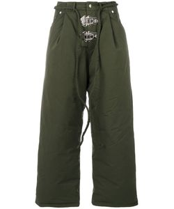 Craig Green | Padded Loose Fit Trousers Men Cotton/Feather