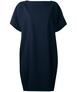 Société Anonyme | Pleated Back Cape Dress