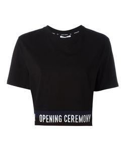 Opening Ceremony | Slogan Trim T-Shirt Size Medium