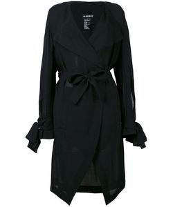 Ann Demeulemeester | Flappy Lapel Semi-Sheer Jacket
