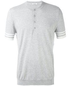 Paolo Pecora | Buttoned Round Neck T-Shirt Men
