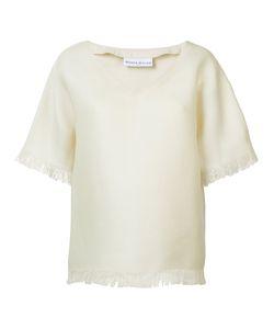 Wanda Nylon   V-Neck T-Shirt