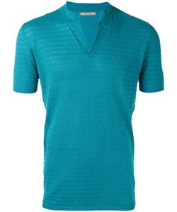 Nuur | Slit Neck T-Shirt Men 46