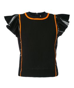 No Ka' Oi | Manu Frill Sleeve Sports Top