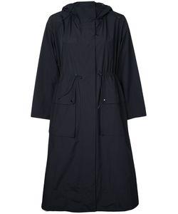 Le Ciel Bleu | Hooded Drawstring Coat Size