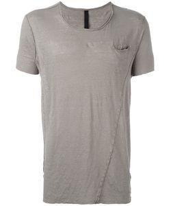 Poème Bohémien | Shded Trim Front Pocket T-Shirt 52