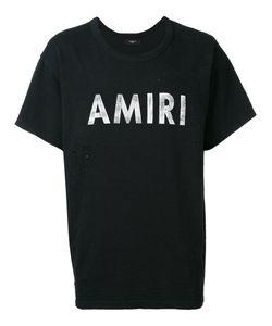 Amiri   Logo Print T-Shirt S