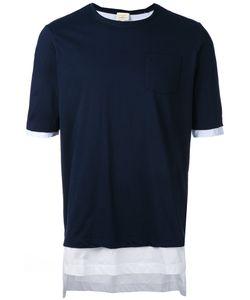 Wooster + Lardini   Layered T-Shirt Size Small