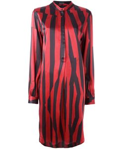 Ann Demeulemeester Blanche | Striped Button Front Dress Size 38