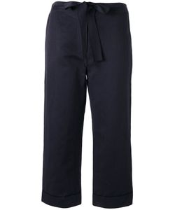 Sara Lanzi | Belted Cropped Trousers
