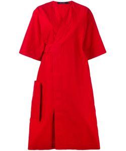 Sofie D'hoore   Poplin Wrap Dress Size 38