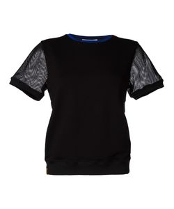 Monreal London | Mesh Sweat T-Shirt Medium Cotton/Spandex/Elastane/Viscose