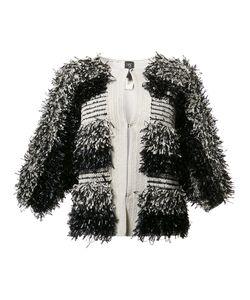 Zero + Maria Cornejo | Collarless Jacket Medium/Large
