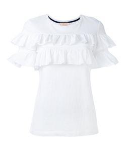 Tory Burch   Ruffled T-Shirt S