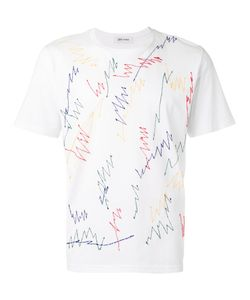 Jimi Roos | Embroidered Scribble T-Shirt Size Small