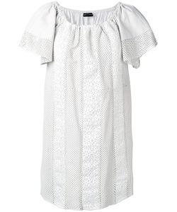 Emporio Armani | Ruffled Neckline Dress Size 42