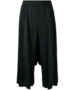 Pleats Please By Issey Miyake | Pleated Cropped Trousers Size 5