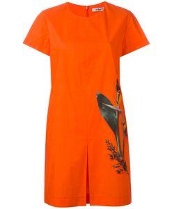 Cacharel | Pleat Detail T-Shirt Dress