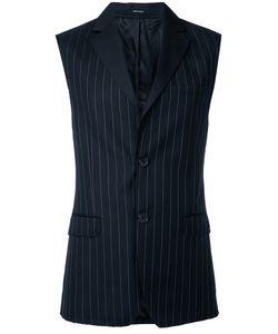 Alexander McQueen   Pinstripe Waistcoat 48