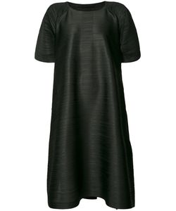 Pleats Please By Issey Miyake | Pleated Textured Shift Dress