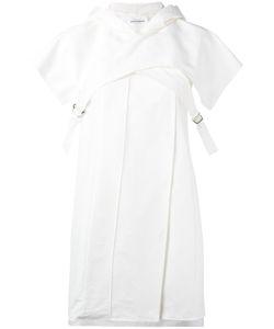 Paco Rabanne | Hooded Cape Mini Dress