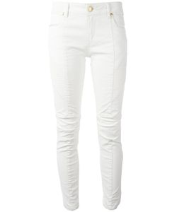 Pierre Balmain | Ribbed Detail Cropped Jeans 27