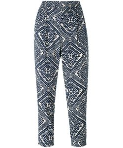 Steffen Schraut | Printed Cropped Trousers Size 36