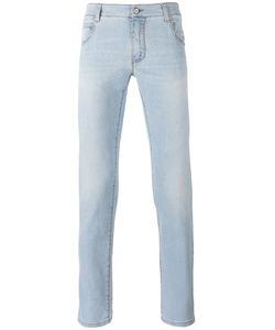 Ermanno Scervino   Bleached Effect Slim-Fit Jeans Men