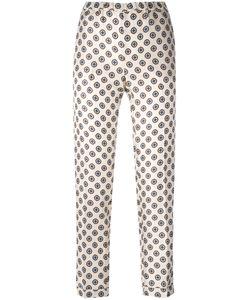 Alberto Biani   Patterned Trousers Size 44