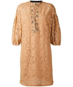 Nude | Three-Quarter Sleeve Lace Dress