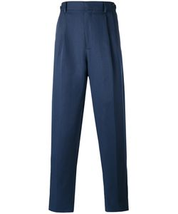 Umit Benan | Pleated Trousers 50 Cotton/Linen/Flax/Modal