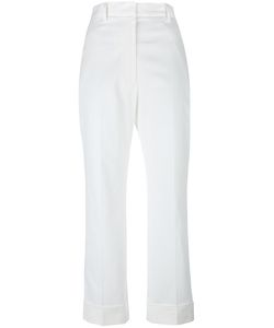 Jil Sander | Cropped Tailored Trousers 36