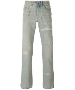 Htc Hollywood Trading Company | Distressed Straight Cut Jeans Men