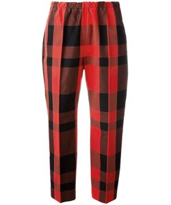Sofie D'hoore   Piano Cropped Trousers 36 Cotton