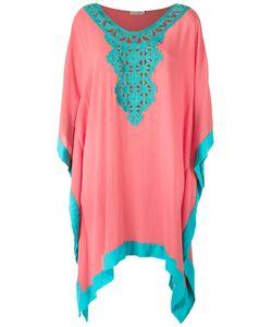 Brigitte   Lace Detail Beach Dress