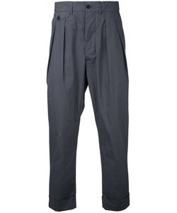 Wooster + Lardini | Pleated Cropped Trousers