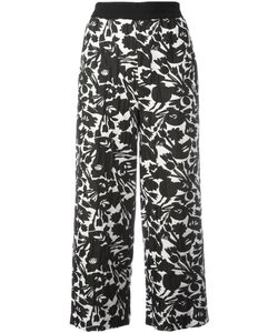 I'M Isola Marras | Print Cropped Trousers Size 46