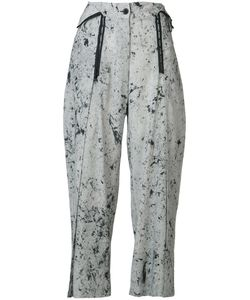 Lost And Found Rooms | Lost Found Rooms Spot Marble Wide Leg Trousers Size