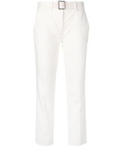 Moncler | Cropped Belted Trousers Size 46