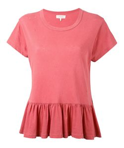The Great   Peplum T-Shirt Xxs