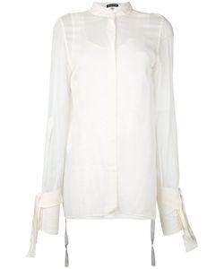 Ann Demeulemeester | Open Back Shirt