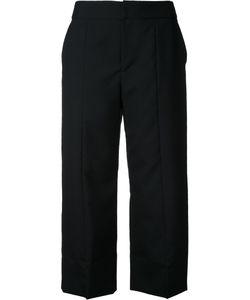 Le Ciel Bleu | Straight Cropped Trousers